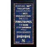 Steiner Sports MLB Subway, 6x 12Foto, gerahmt, Blau, Einheitsgröße