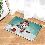 JYRSTSEHT Simpatico Materassino da Snow 3D HD, Morbido E Confortevole Tessuto in Poliestere, Elegante Stuoia da Bagno Ad Asciugatura Rapida Antibatterico