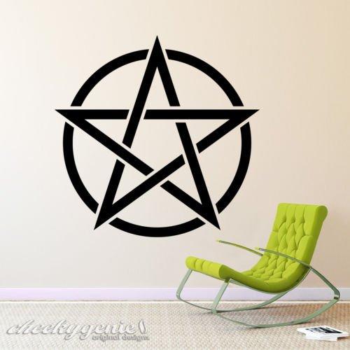 wicca-wiccan-pentagram-pentacle-paganos-brujeria-vinilo-pared-arte-adhesivo-blanco-medium-40cm-acros