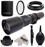 Super 500mm/1000mm f/8 Manual Telephoto Lens for Nikon D5, D4S, DF, D4, D3X