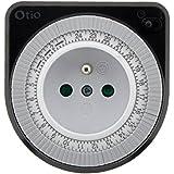 Otio - Programmateur mécanique noir
