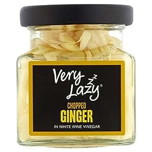Very Lazy Chopped Ginger in White Wine Vinegar 115g
