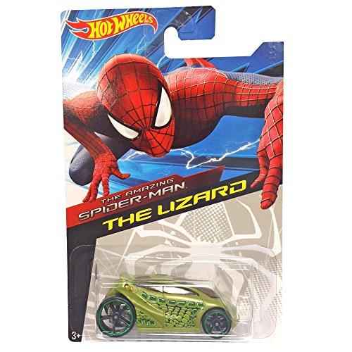 Hot Wheels Amazing Spider-Man 2 Diecast Car - The Lizard by Mattel