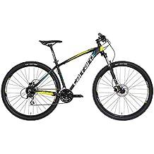 Carraro Comp Rc 29 Bicicletta Mtb, Nero/Neon
