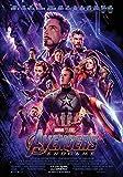 Affiche Cinéma Originale Grand Format - Avengers : Endgame (Format 120 x 160 cm pliée)