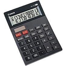 Canon 4582B001AB - Calculadora sobremesa AS-120, 12 dígitos, color gris