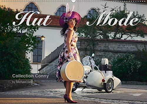 Hut Mode (Wandkalender 2020 DIN A2 quer): Der Hut als Mode-Accessoires (Monatskalender, 14 Seiten ) (CALVENDO Kunst)