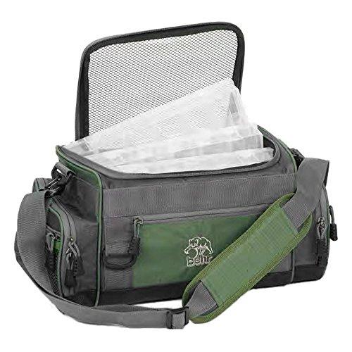 Angeltasche Tackle Bag mit 4 Boxen Tacklebox Angel Tasche Umhängetasche Taschen Schultertasche Anglertasche