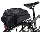 DCCN Gepäckträgertasche 9L Fahrrad Rahmentasche Satteltasche für Mountain Bike