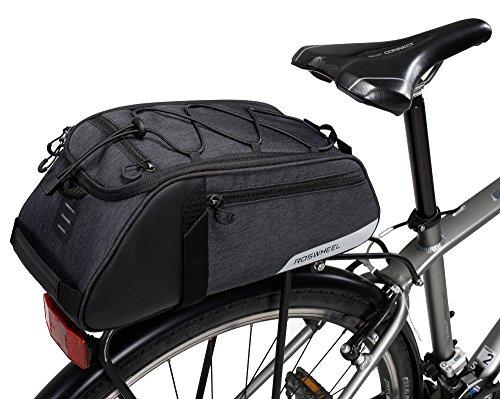 DCCN Gepäckträgertasche 9L Fahrrad Rahmentasche Satteltasche für Mountain Bike 36 * 16 * 13cm