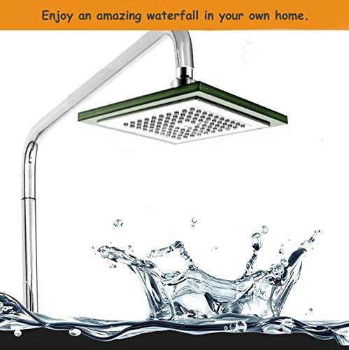 ESTAR-LINE® Große LED Duschkopf Regenbrause 7 Farben - 2