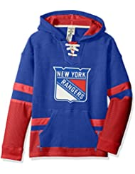 """New York Rangers CCM NHL """"Hit the Boards"""" Youth Jeunes Vintage Jersey Maillot SweatShirt Chemise"""