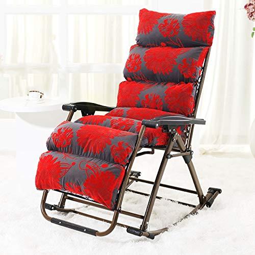 HAIZHEN Chaise longue Chaise de loisirs, chaises longues de jardin Sun Lounger Relaxer fauteuils inclinables Textoline résistant aux intempéries Textoline pour cour, plage ou balcon Poids supporté 200