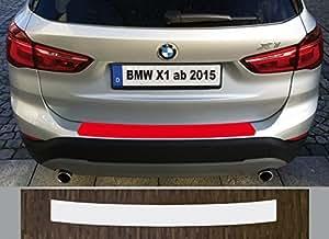 Spécialement conçu pour BMW X1, Type F48, à partir de 2015; Film de protection peinture pour seuil de chargement transparent