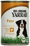 YARRAH Bio Hundefutter Pate Huhn