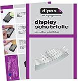 dipos I 2X Schutzfolie klar passend für Jura C-Serie C5 C50 C55 C60 C65 Tropfblech Folie Displayschutzfolie