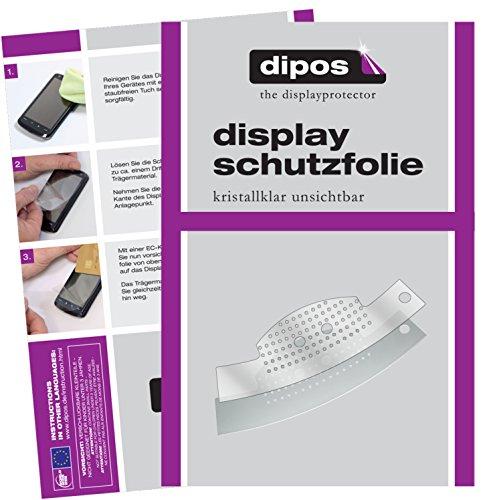 dipos I 2X Schutzfolie klar passend für Jura C-Serie C5 C50 C55 C60 C65 Tropfblech Folie Bildschirmschutzfolie