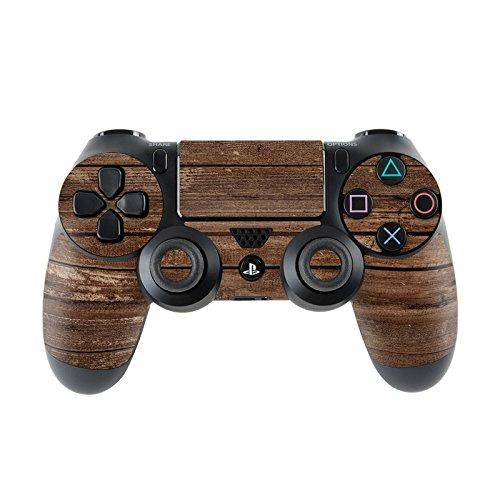 Skins4u Sony Playstation 4 Skin PS4 Controller Skins Design Sticker Aufkleber Styling Set Auch für Slim & Pro Aufkleber Styling Set Auch für Slim & Pro - Stripped Wood