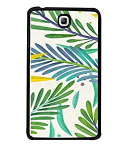 PrintVisa Designer Back Case Cover for Samsung Galaxy Tab 3 (8.0 inches) T310 T311 T315 LTE (Leaf Art Wallpaper Vector Spring Nature)