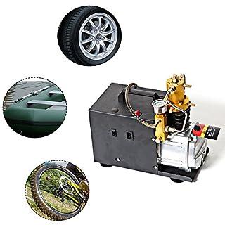 YIYIBY Hochdruckluftpumpe Elektrische 300BAR 30MPA 4500PSI Luft Kompressor PCP für Automobil Tauchflasche Industrieflasche Luftgewehr Gewehr Inflator