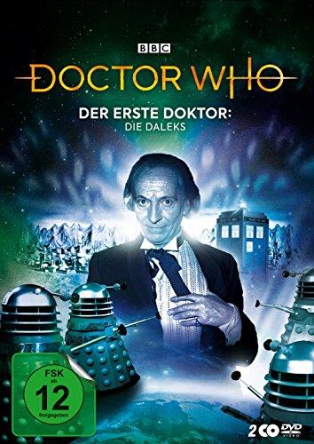 Doctor Who - Der Erste Doktor: Die Daleks (Digipack-Edition)  [2 DVDs]