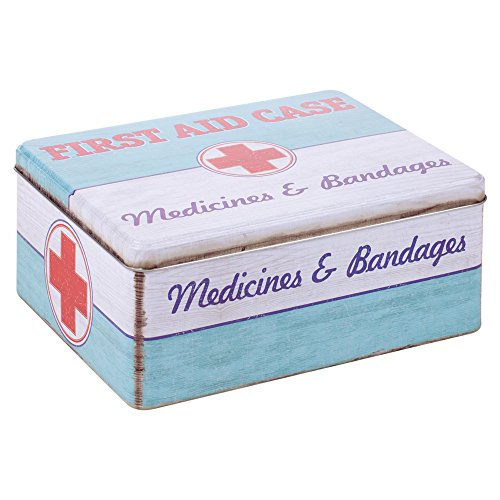 retro-first-aid-medicine-storage-hinged-lid-tin-box-case
