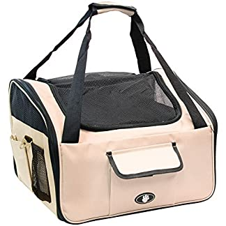 Me & My Pets Cat/Dog Car Seat/Carrier - Cream - Choice of Size Me & My Pets Cat/Dog Car Seat/Carrier – Cream – Choice of Size 51NtWbBPyNL