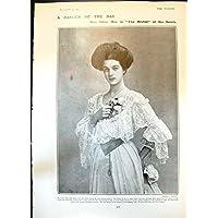 La Stampa Antica di Oliva Può Camera Burnside Marie Brema Francis Braun1904 di Allegria dell