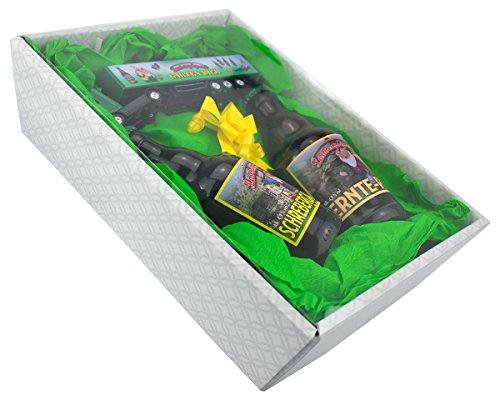 Garten Geschenk-Set mit einem Laubenpieper Garten-Truck im Präsentkarton