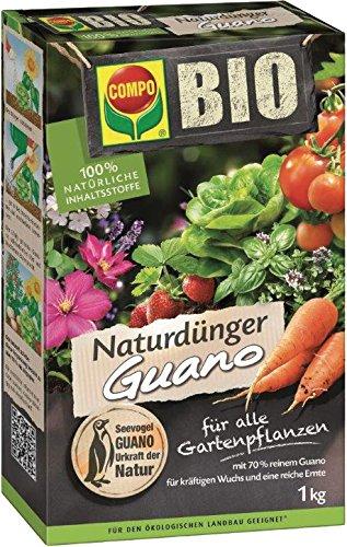 Natur-Dünger Guano COMPO BIO NATUR GUANODÜNGE 1KG 12401