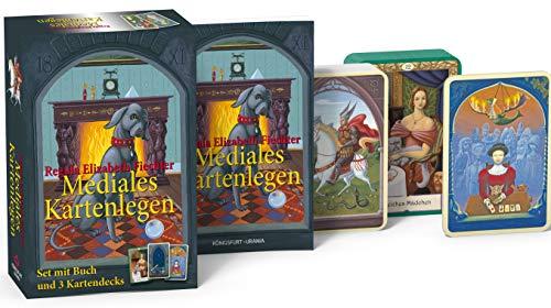 Mediales Kartenlegen: Set mit Buch und 3 Kartendecks