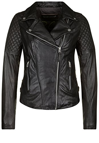 FREAKY NATION Damen Lederjacke BIG CITY LIGHTS