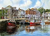 Gibsons Padstow Harbour by Terry Harrison (1000 Piece) Puzzle