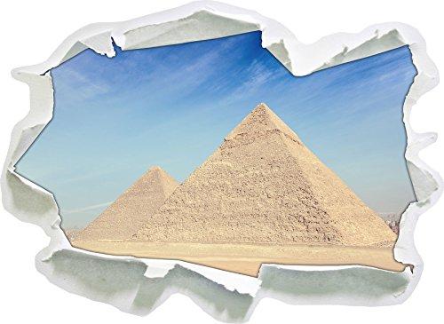 Egitto Wonders Piramidi di Giza, carta da parati 3D formato adesivo: 62x45 cm decorazione della parete 3D Wall Stickers parete decalcomanie