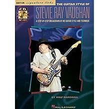 Stevie Ray Vaughan Guitar Styles - Guitar Signature Licks Tab Book / Cd: Grifftabelle, CD für Gitarre