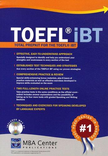 Total Prepkit for the TOEFL IBT (1CD audio MP3)