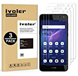 iVoler [Pack de 3] Verre Trempé Huawei Y6 2017, Film Protection en Verre trempé écran Protecteur vitre