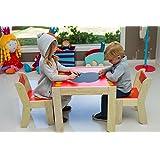 kindersitzgruppe bleistift kinder tisch und st hle. Black Bedroom Furniture Sets. Home Design Ideas