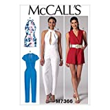 McCall's Patterns M7366 Misses' Pleated ...