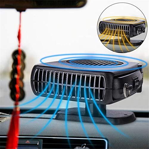 LCYCN Auto-Heiz Ventilator, 12V 150W Mini Auto Defroster Lüfterheizung Demister Mit Schwenk-Out-Fahr Begeisterten Auto-Styling