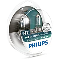 Philips 12972XV+S2 X-tremeVision Car Headlight Bulb, H7 12V, 55W Halogen, 2-Pack [Packaging type S2]