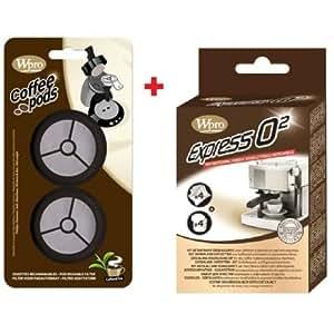 Dosettes rechargeables Senseo + Kit Nettoyeur