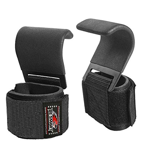 BS-WRIST-STRAPS-WRAPS-HOOKS-WEIGHT-LIFTING-TRAINING-GYM-BAR-LIFT-SUPPORT-GLOVES