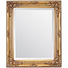 Select Mirrors Rhone - Espejo de pared (estilo barroco rococo, 50 x 60 cm