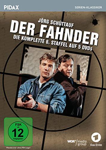 Der Fahnder, Staffel 6 / Weitere 20 Folgen der preisgekrönten Kult-Krimiserie mit Jörg Schüttauf (Pidax Serien-Klassiker) [5 DVDs]