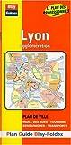 Plan de ville : Lyon et agglomération (avec un index)