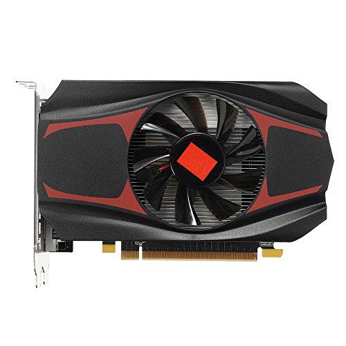 Dinglong AMD HD7670,AMD Ati Radeon Hd7670 4Go ddr5 128bit Pci-Express Carte Graphique Indépendante 4GB