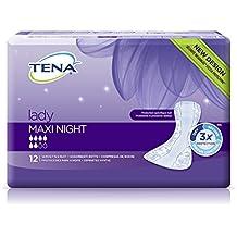 Tena Lady Maxi Night - saugstarke Einlage - geruchsneutralisierend - bei mittelschwerer Blasenschwäche - 72 Stück