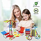 360 Pieces - Elongdi Sticks Building Blocks Kids Educational Toys Stacking Toys Set