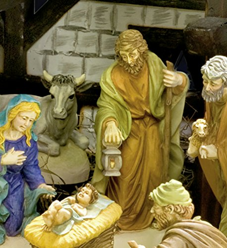 12-teiliges Christmas Krippenfiguren - Set - Latex Giessformen - C336288